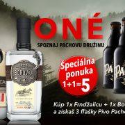 AKCIA Frndžalica + Borôvka + Pacho